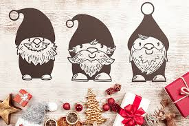 Free Christmas Gnomes Svg Files With Commercial License Craft N Cuts