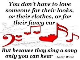 Love Song ~ Oscar Wilde Quote | YourBirthdayQuotes.com via Relatably.com
