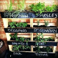 herb garden starter kit outdoor herb garden outdoor if your outdoor space is limited make a