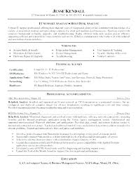 resume for front desk computer help desk resume fredrongo co