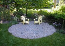 round patio. Patio Designs North Greece Landscape In Rochester NY Round .