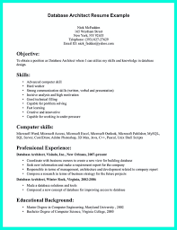 Example Format Of Architect Resume Sample Letter Sample Collection