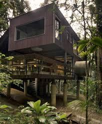 Brazilian Houses Tropical Beach House In The Brazilian Jungle Tropical Beach