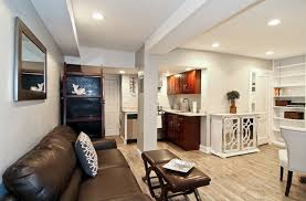 image of modern basement apartment ideas