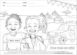 Kleurplaat Koningsdag Denbi Met De Hand Aan De Ploeg