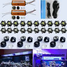 led lighting diy. DIY Led Aquarium Light Kit (20*3W) For Coral Reef Tank Dimmable Lighting Diy