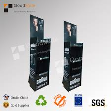 Cardboard Pop Up Display Stands Inspiration High Quality Of Customized Shaver Rack