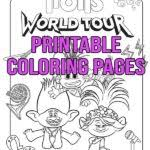 Free printable trolls coloring pages and trolls activity sheets to celebrate the new animated film! Free Printable Trolls World Tour Coloring Pages Activities