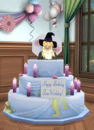 Birthday Cake Sims 4 The Cake Boutique