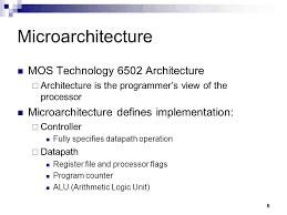 6502 architecture. 5 microarchitecture mos technology 6502 architecture