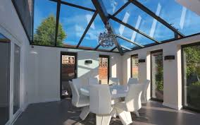 Pitched Roof Lighting Solutions Glass Roof Panels An Eye Catching Alternative To A Conservatory