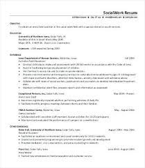 Social Worker Resume Social Work Resume Examples Case Worker Resume