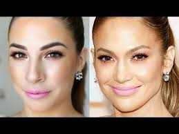 if you loved jlo s oscars2016 makeup look watch claire show you how to recreate