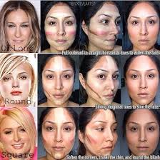 contouring for different face shapes. contour-different-face-shapes-online-fashion-magazines contouring for different face shapes e