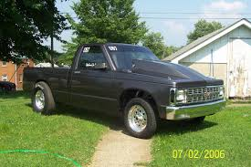 1986 Chevrolet S10 Pickup Racing 1/4 mile trap speeds 0-60 ...