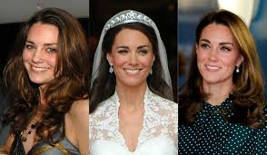 The wife of prince william; Kate Middleton S Beauty Evolution Through The Years Photos Hellogiggles