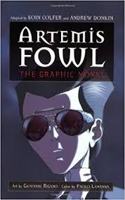 amazon artemis fowl the graphic novel 9780786848829 eoin colfer andrew donkin giovanni rigano books