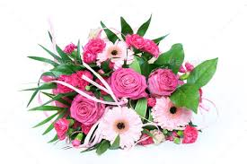 bunch of flowers stock photo by fotyma