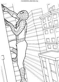 Uomo Ragno Da Colorare Per Bambini Con Spider Man Mondo 1379 Con