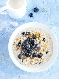 1 cup of oats bowl of blueberry overnight oats 1 cup oats nutrition 1 cup quaker