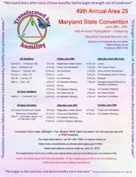 Maryland State Convention Baltimore Intergroup Council Of