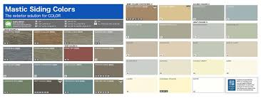 Mastic Siding Color Chart Top Rated Siding Contractors Lincoln Ne Nelson