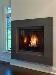 modern fireplace mantel this