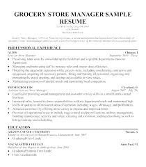 Good Sample Retail Manager Resume For Retail Store Manager Sample