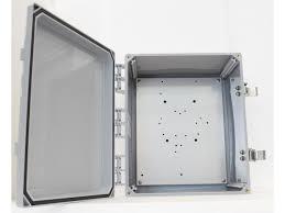 12 x 10 x 6 wi fi basic enclosure w solid