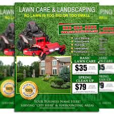 Lawn Mowing Ads Lawncare Flyers Magdalene Project Org
