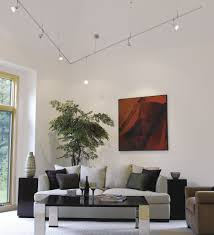track lighting in living room. Track Lighting Is A Collection Of Small Lamps Arranged In Line. The Frequently Hung From Ceiling, With Cord Encased And Living Room H