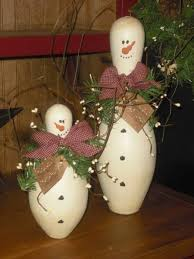 Decorated Bowling Pins DIY Christmas Decorations Made Using Terracotta Pots Find Fun 84