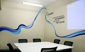 office wall ideas. creative ideas for adding some branding to your office walls wall o