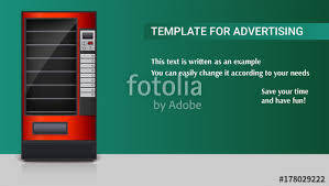 Vending Machine Background Enchanting Vending Machine For The Sale Of Snacks Soda Or Foods Detailed Red
