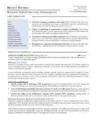 Finance Manager Resume Template Extraordinary Design Finance