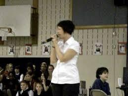 Teacher Dianna Hope sings for Veterans Day ceremony - YouTube