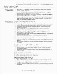 Registered Nurse Resume Template Free New Nursing Resume Templates