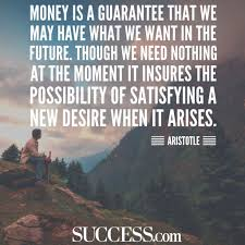 Aristotle Quote About Money Millenials Struggle With Finances But