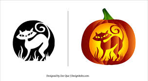 Scary Pumpkin Carving Patterns Adorable Free Halloween Scary Pumpkin Carving Patterns Stencils Free Vector