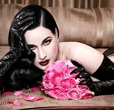 photos burlesque star dita von teese shares intimate beauty secrets in new glamour guide