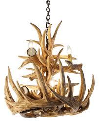 whitetail deer 12 large antler chandelier