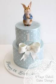 2 Tier Peter Rabbit Cake Sweetness In 2019 Birthday Cake Peter