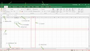 Introduction To Microsoft Excel Basics Knowledge