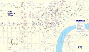 edmonton transport map \u2022 mapsof net Maps Edmonton edmonton downtown transport map (city center) mapsof net map maps edmonton alberta canada