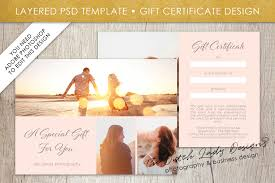 photography gift certificate template photo gift card layered psd files design 1 graphic by daphnepopuliers creative fabrica