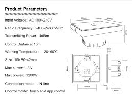 <b>ZigBee</b> 3.0 <b>switch</b> smart light control <b>zigbee</b> Wireless <b>wall</b> remote ...