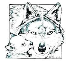 Wolf Face Coloring Pages To Print Betterfor