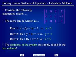 trig equations calculator math table of contents solving linear systems of equations calculator methods consider the