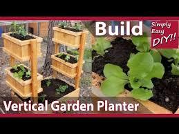 diy vertical garden planter you
