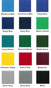 Expo Display Service Colour Chart For Fabric Loop Nylon